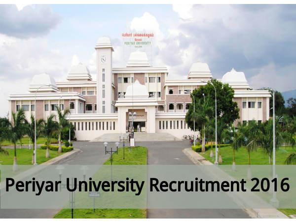 Periyar University Recruits 108 Jnr Asst Posts