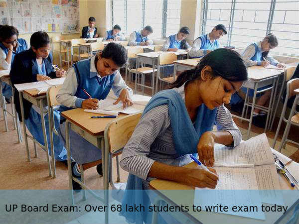 UP Board exam: Over 68 lakh students to write exam