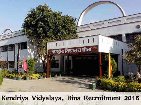 KV, Bina Recruits Teaching & Non-Teaching Posts