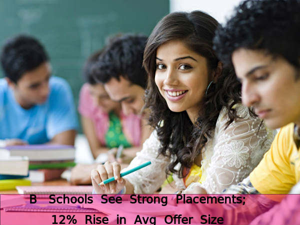 B-schools see strong placements; 12% rise