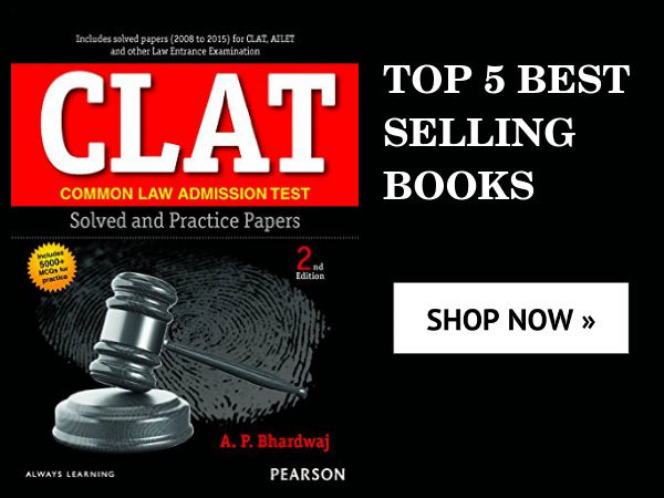 CLAT! 5 Best Selling Books With 30% Discount