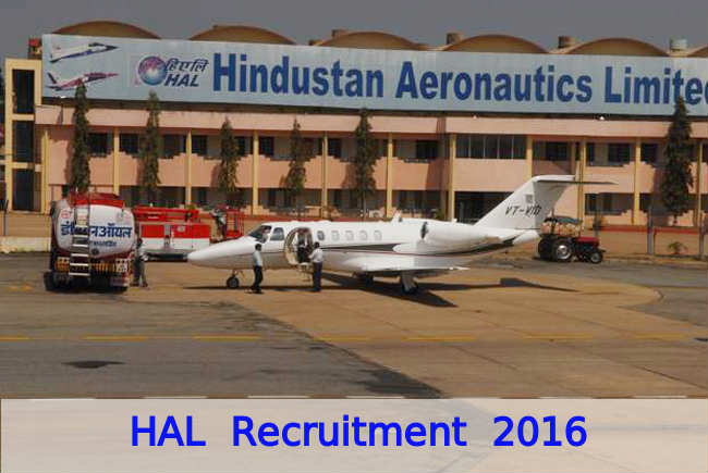 HAL Recruitment Drive 2016 for Various Posts 2016