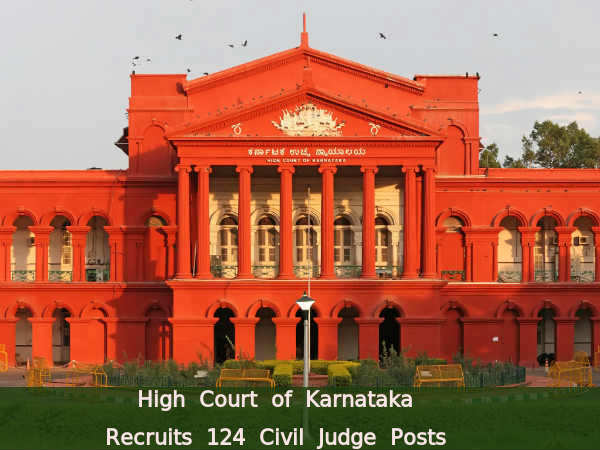 High Court of Karnataka Recruits Civil Judge Posts