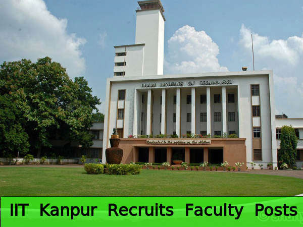 IIT Kanpur Invites Application for Faculty Posts