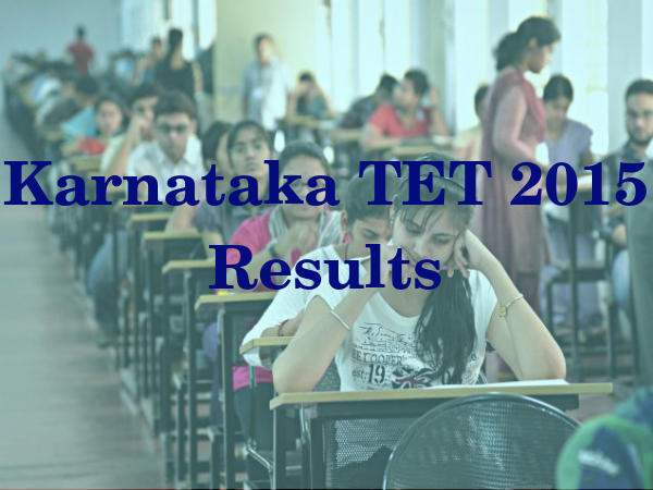 Karnataka TET 2015: Results, Merit List Released