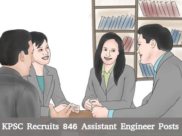 KPSC Recruitment for 846 Assistant Engineer Posts