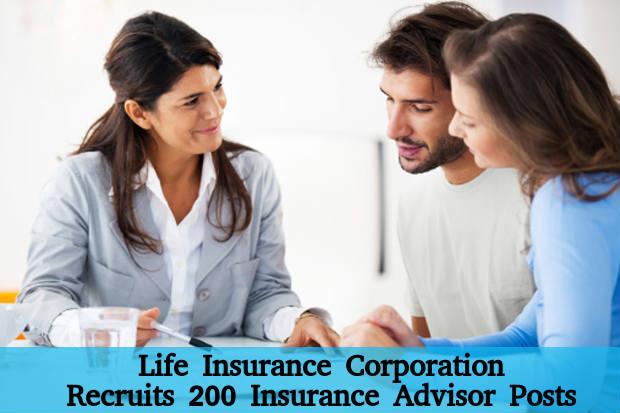 LIC Amravati Recruits 200 Insurance Advisor Posts