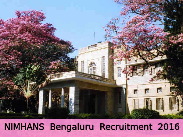 NIMHANS Recruits 7 Research Asst & Other Posts
