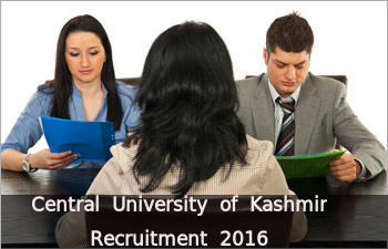 CU Kashmir Recruits 12 Faculty Posts
