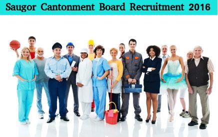 Saugor Cantonment Board Recruits 9 Various Posts