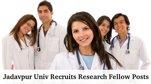 Jadavpur Univ Recruits 14 Research Fellow Posts