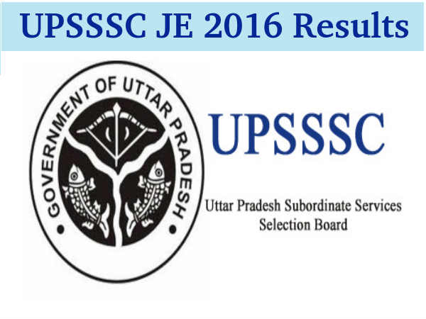 UPSSSC JE Exam 2016 Results Declared!