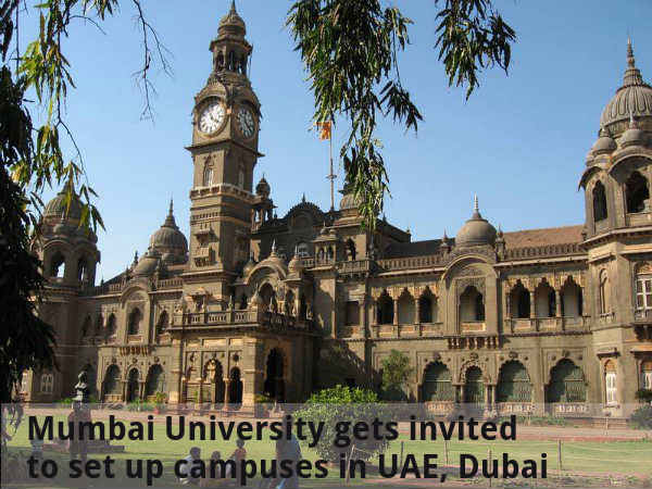 Mumbai University gets invited to set up campuses