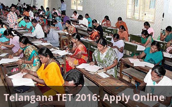 Telangana TET 2016: Apply Online