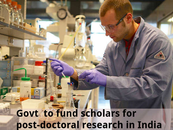 Govt to fund scholars for post-doc research