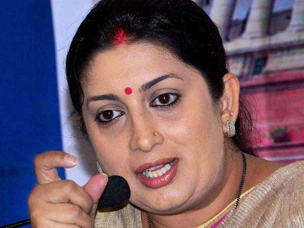 Don't be deterred by failures, Smriti Irani