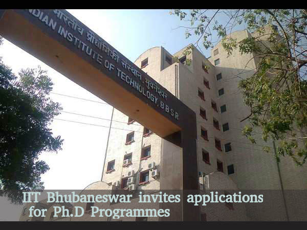 IIT Bhubaneswar invites applications for Ph.D