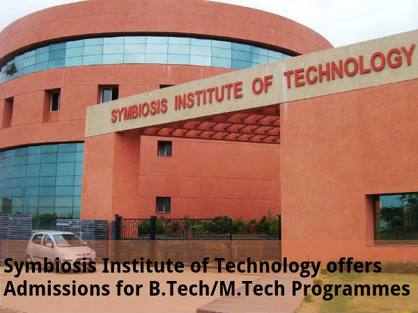 SIT offers Admissions for B.Tech/M.Tech Programmes
