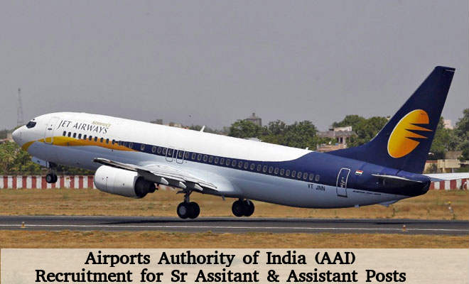AAI is Hiring for 2 Senior Assistant & Asst Posts