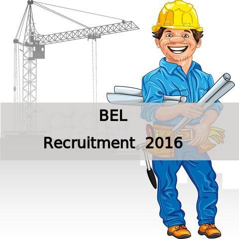 BEL Hiring 9 Engineers Post 2016