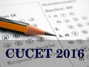 CUCET 2016 Exam Dates