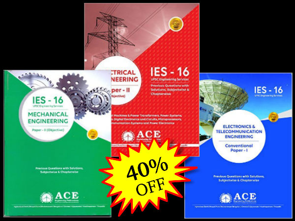 Get 40% discount of IES study material