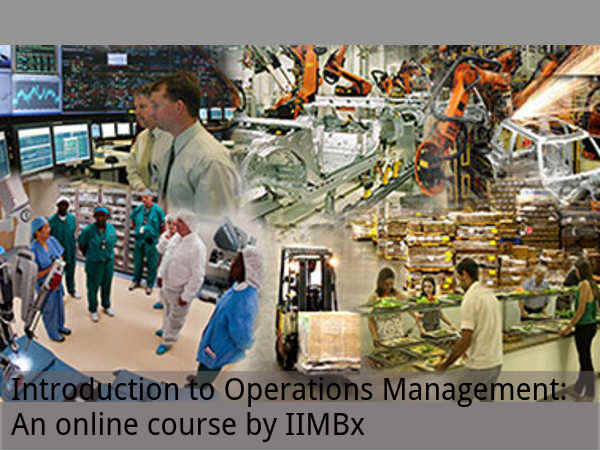Intro to Operations Management: Online course