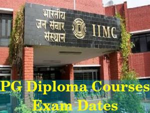 IIMC Announces Exam Dates for PG Diploma Courses