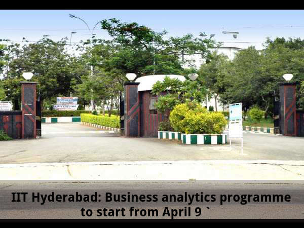 IIT Hyderabad: Business Analytics programme