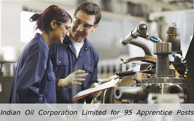 Indian Oil is Hiring for 95 Apprentice Posts 2016