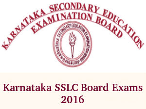 Karnataka SSLC Board Exams 2016 Begins Tomorrow