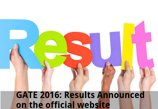 GATE 2016: Results Announced