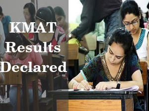KMAT 2015: Results Declared by KPPGCA