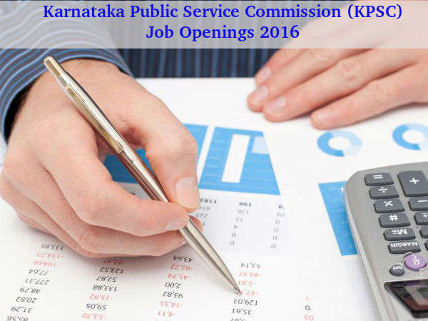KPSC Recruitment for 162 Posts 2016