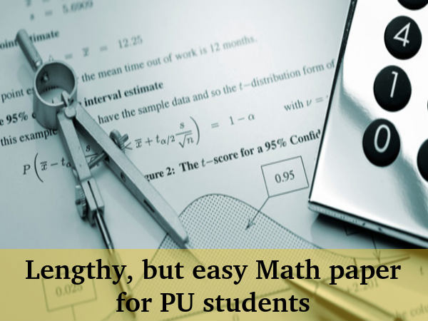 Mathematics paper Analysis: Karnataka 2 PU Exams