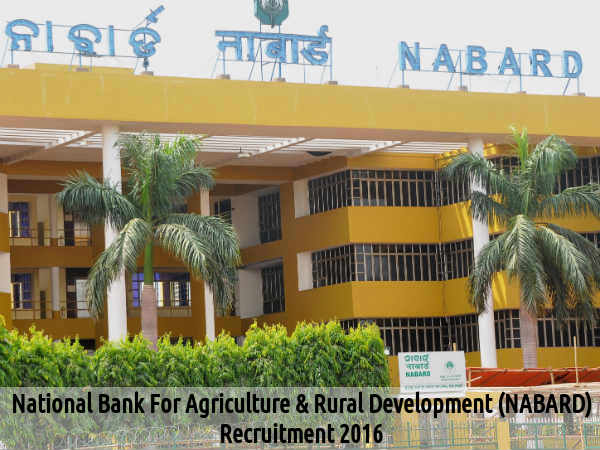 NABARD is Hiring for Manager & Other Posts 2016