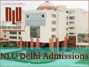 National Law University, Delhi Offers Admissions