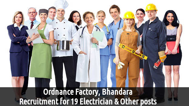 Ordnance Factory recruitment 2016