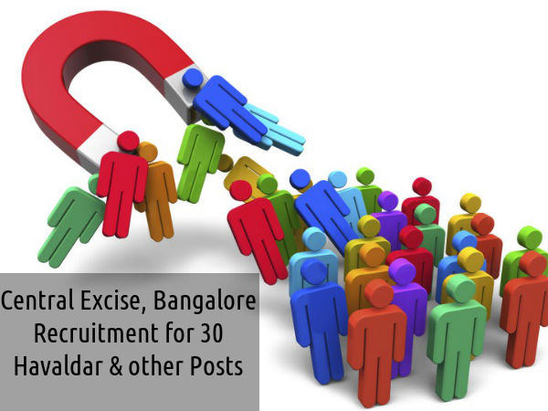 CE is Hiring for 30 Havaldar and Other Posts