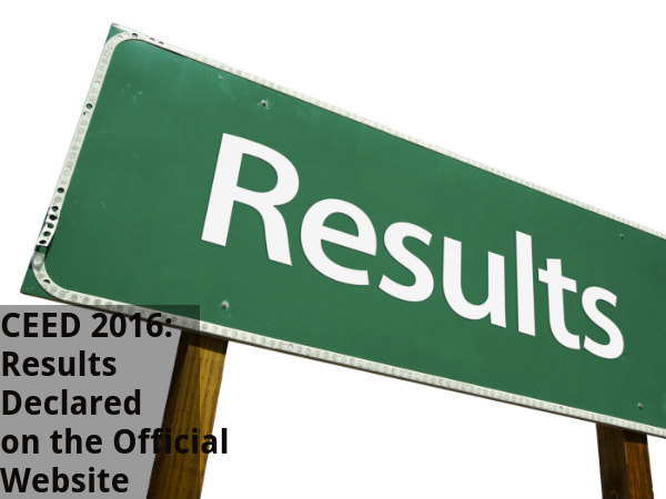 CEED 2016: Results Declared