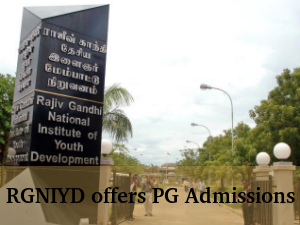 RGNIYD Offers PG Admisions