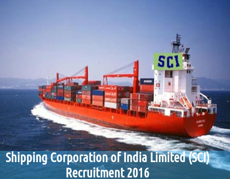 SCI is Hiring for 15 Asst Manager Posts 2016