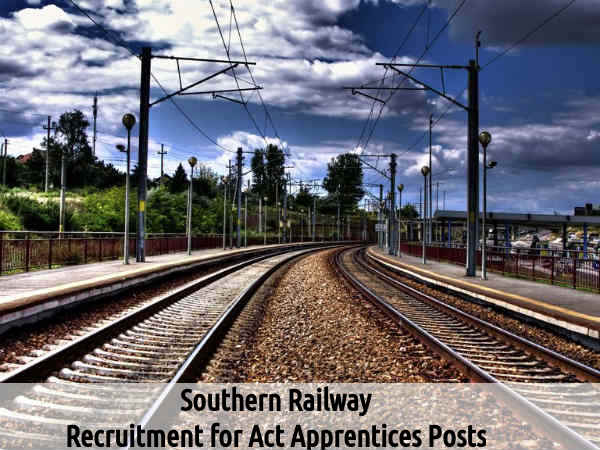 Southern Railway Recruitment For 139 Act Apprentices Posts