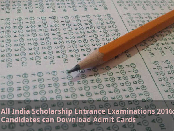 AISEE 2016: Candidates Can Download Admit Cards