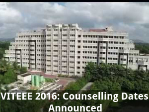 VITEEE 2016: Counselling Dates Announced