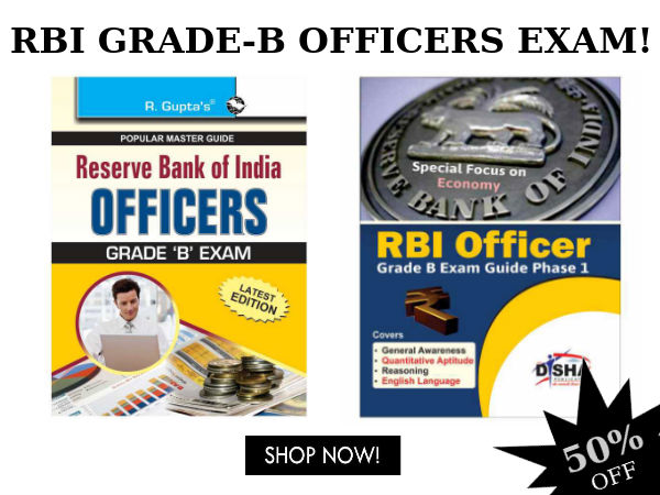 RBI GRADE-B Officers Exam: Top 5 Best Selling Book