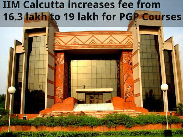 IIM-C Hikes Fee by 16 percent for PGP Courses