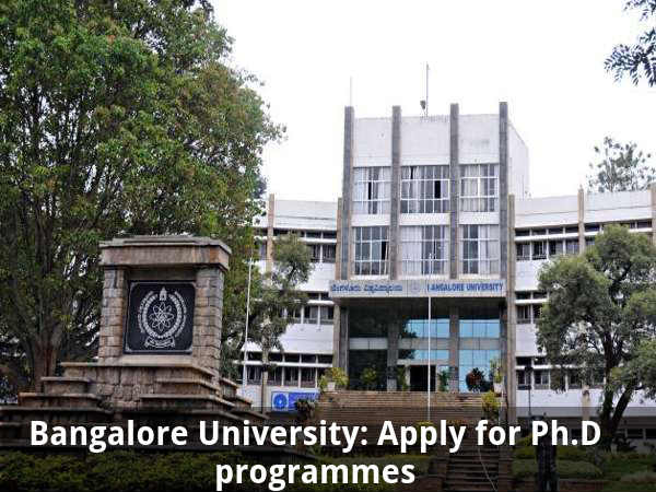 Bangalore University: Apply for Ph.D programmes