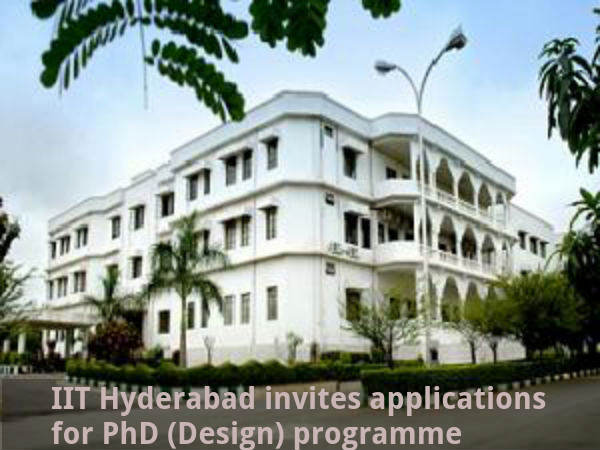 IIT Hyderabad: Applications invited for PhD