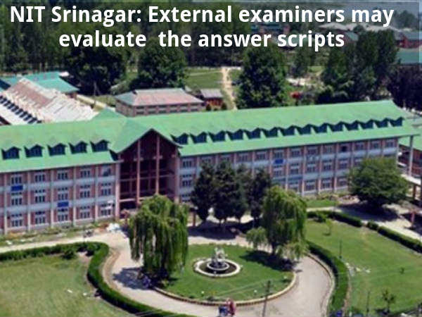 External examiners may check the answer scripts